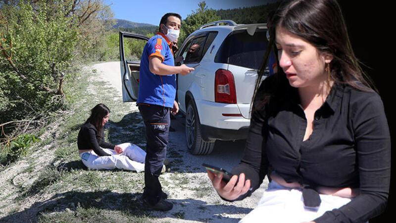 Bolu'da ormanlık alanda kaybolan genç kız, 6 saat sonra bulundu