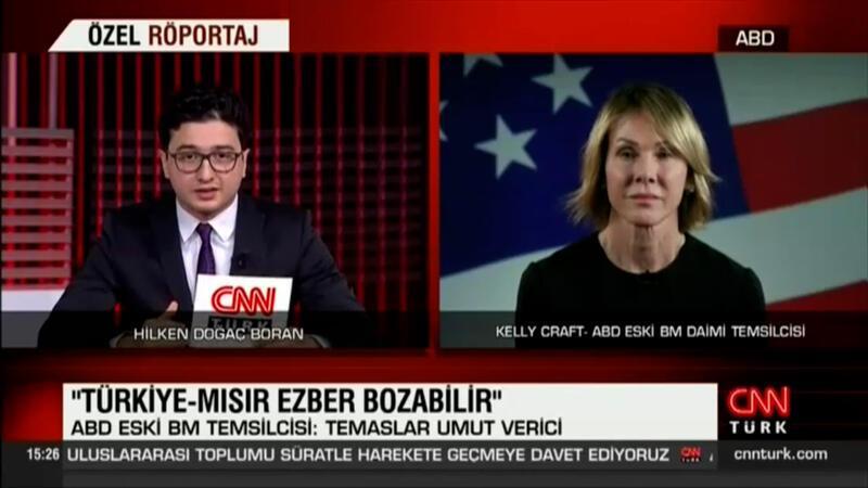 ABD Eski BM temsilcisi özel röportajda önemli açıklamalarda bulundu
