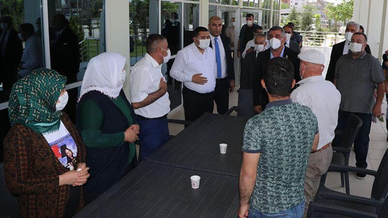 Evlat nöbetindeki ailelerden CHP'li vekile 'HDP' tepkisi