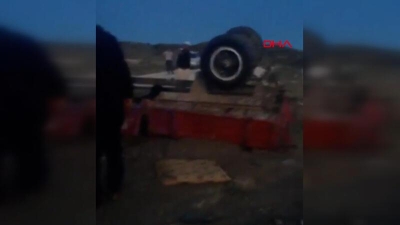 Ankara Haymana'da traktör kazası! Çok sayıda ölü ve yaralı var