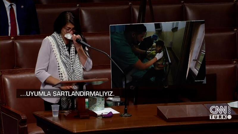 ABD'li vekil Gazze'deki yaşananları anlatırken gözyaşlarını tutamadı