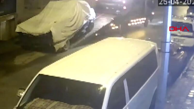 Park halindeki kamyoneti, çekiciyle çaldılar! 'Nasıl olduğuna ben de şaşırdım'