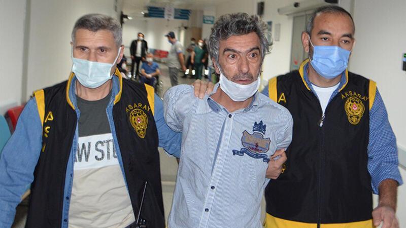 Aksaray'da tartıştığı eşini 7 yerinden bıçakladı