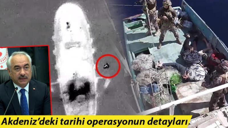İçişleri Bakan Yardımcısı Ersoy'dan Akdeniz'deki uyuşturucu operasyonu açıklaması