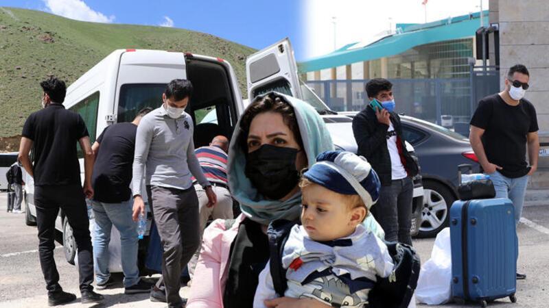Kapıköy Gümrük Kapısı'nın 14 ay sonra yeniden açılmasıyla akın ettiler