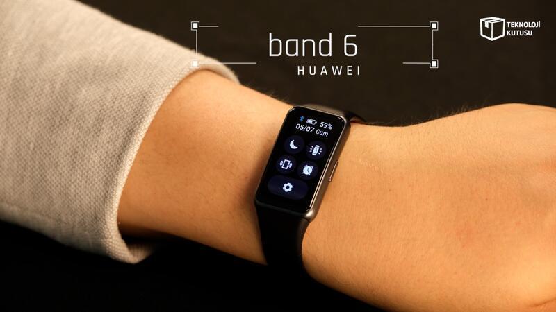 Huawei Band 6 incelemesi