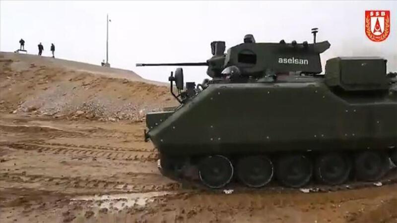 Zırhlı Muharebe Aracı testlerini başarıyla geçti