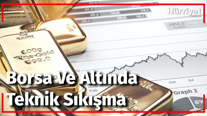 Borsa Ve Altında Teknik Sıkışma | Borsa Ve Emtia Dünyası