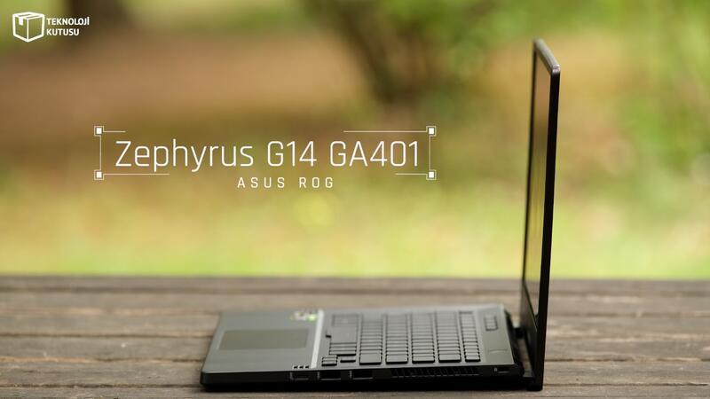 ASUS ROG Zephyrus G14 GA401 incelemesi