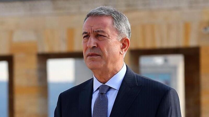 Milli Savunma Bakanı Akar, İtalya ve İngiltere Savunma Bakanları ile üçlü toplantıda bir araya geldi