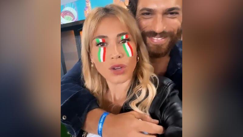 Diletta Leotta ve Can Yaman'dan İtalya-Türkiye paylaşımı