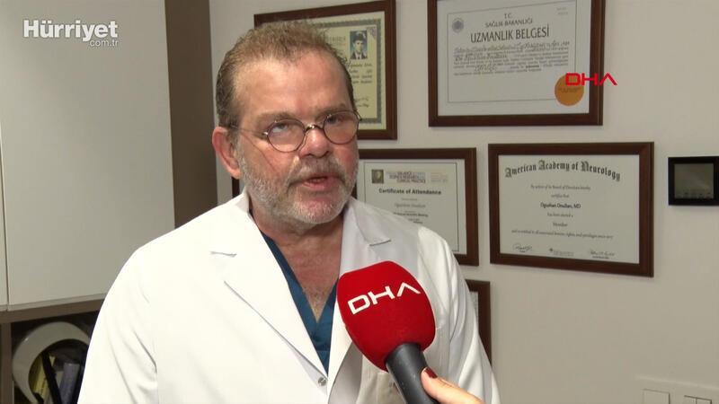 Nöroloji Uzmanı Dr. Oğuzhan Onultan:Felç riski var