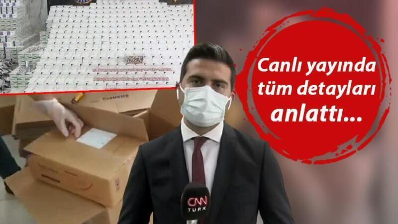 İstanbul'da dev operasyon! 2 milyon hap ele geçirildi