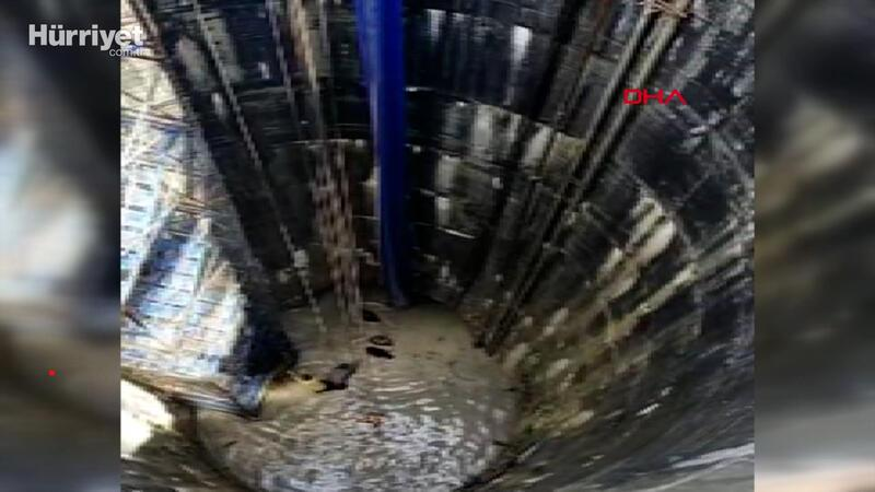 Avcılar'daki İSKİ şantiyesini su bastı: 1 işçi son anda kurtarıldı