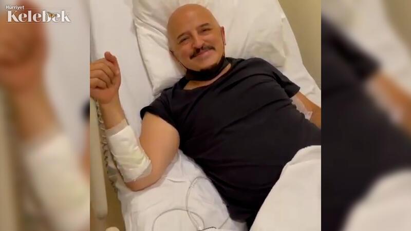 Yavuz Seçkin evinin bahçesinde kaza geçirdi