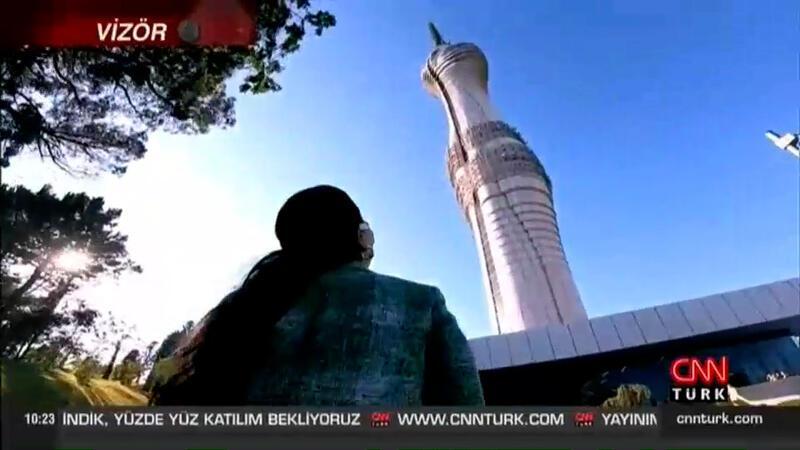 CNN TÜRK, Ulaştırma Bakanı'yla Çamlıca Kulesi'nde