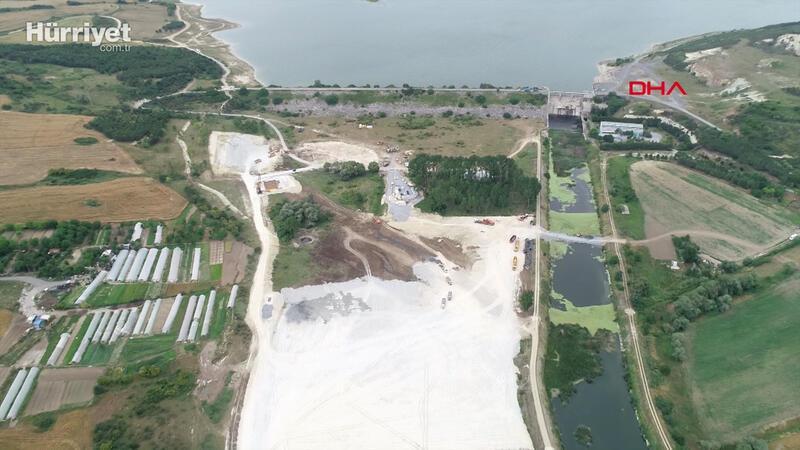 İşte Kanal İstanbul'da ilk temelin atılacağı nokta