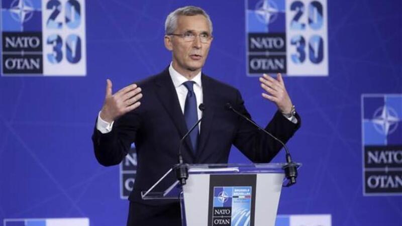 NATO Liderler zirvesi sonrası NATO Genel Sekreter Stoltenberg açıklamalarda bulundu