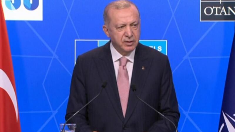 Cumhurbaşkanı Erdoğan, Biden görüşmesi sonrası açıklamalarda bulundu