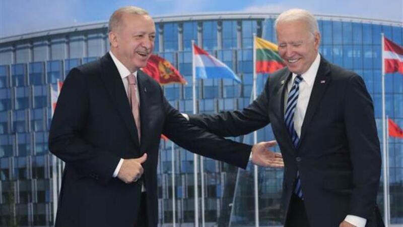 ABD Başkanı Joe Biden, NATO Karargahı'nda açıklamalarda bulundu