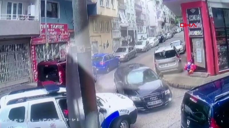 Bursa'da kovalamaca kazayla bitti! O anlar kamerada