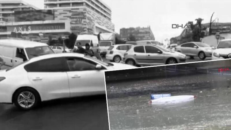 İstanbul'da kuvvetli yağış etkili oluyor
