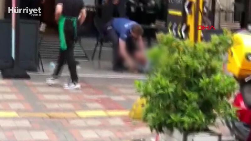 Bakırköy'de arbedede silah patladı: 1'i polis 2 kişi yaralandı