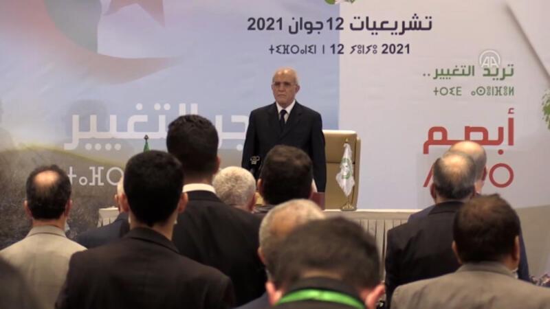 Cezayir'de 12 Haziran'da yapılan genel seçimleri 105 sandalye ile Ulusal Kurtuluş Cephesi kazandı