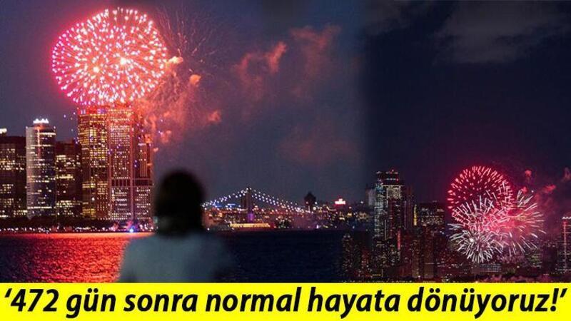 New York'ta yasaklar büyük kutlamalarla kaldırıldı