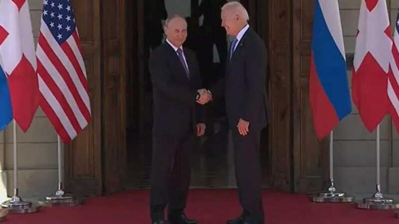 ABD Başkanı Biden ve Rusya lideri Putin ilk kez bir araya geldi