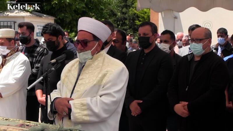 Rafet El Roman'ın babası İsmail Yaşdut, Tekirdağ'da son yolculuğa uğurlandı