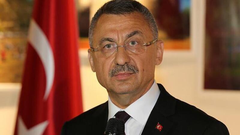 Cumhurbaşkanı Yardımcısı Oktay, KKTC Sağlık Bakanı Ünal Üstel'i kabul etti
