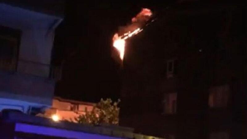 Ordu'da bir kişi, eşiyle tartışıp evi ateşe verdi