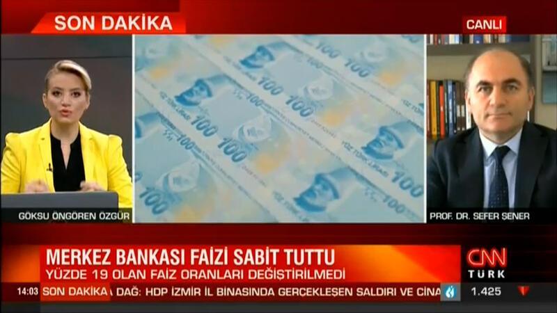 Merkez Bankasını faiz kararını sabit tuttu