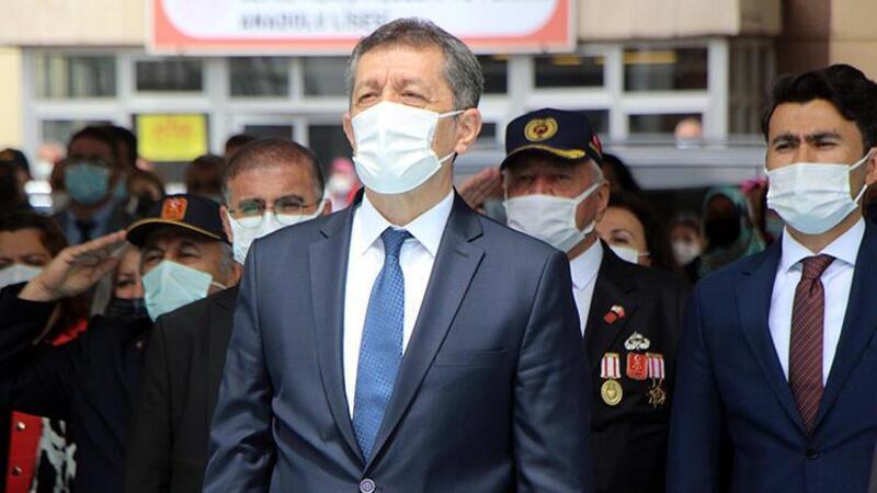 Milli Eğitim Bakanı Ziya Selçuk, açıklamalarda bulundu