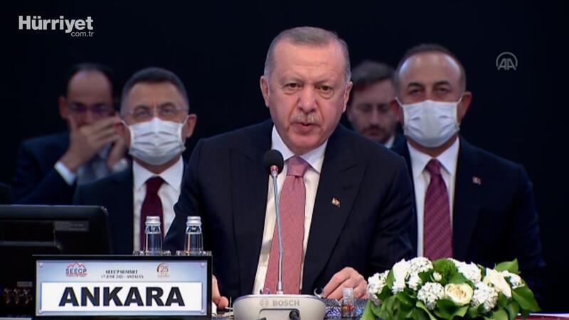 Cumhurbaşkanı Erdoğan'dan AB üyeliği sözleri