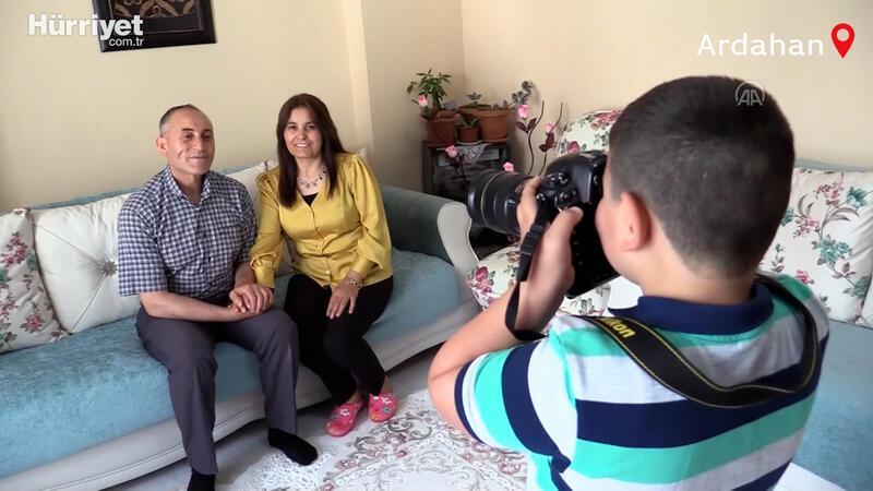 Küçük Ünsal'ın aile hayali koruyucu baba  şefkatiyle gerçek oldu