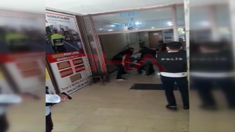 İzmir'de saldırganın etkisiz hale getirilme anları ortaya çıktı