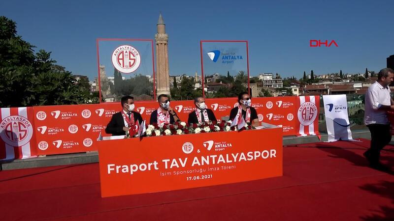 Antalyaspor, Fraport TAV sponsorluğunu uzattı