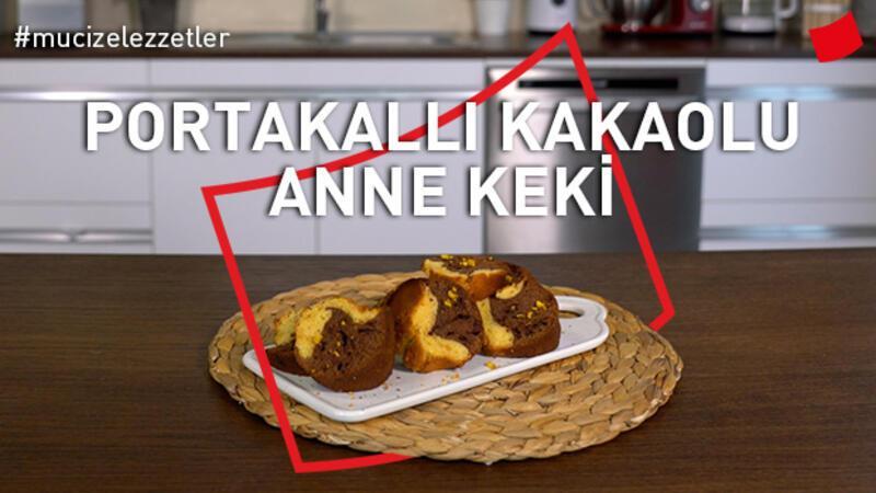 Portakallı Kakaolu Anne Keki Tarifi | Mucize Lezzetler