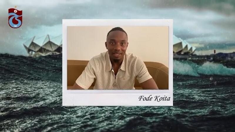Trabzonspor paylaştı! Koita'dan mesaj...