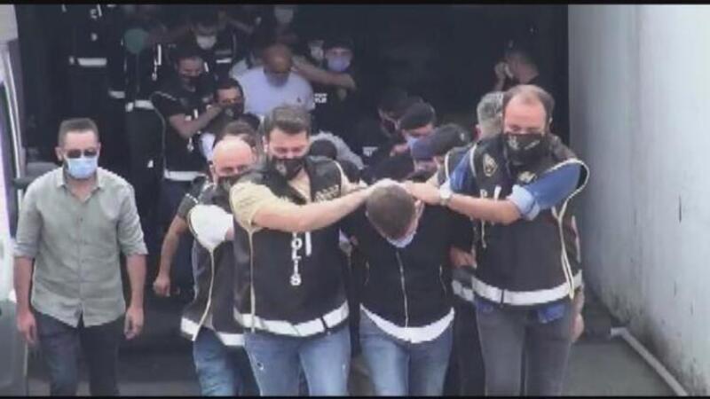 Nuriş kardeşler operasyonunda gözaltına alınanlar adliyeye sevk edildi