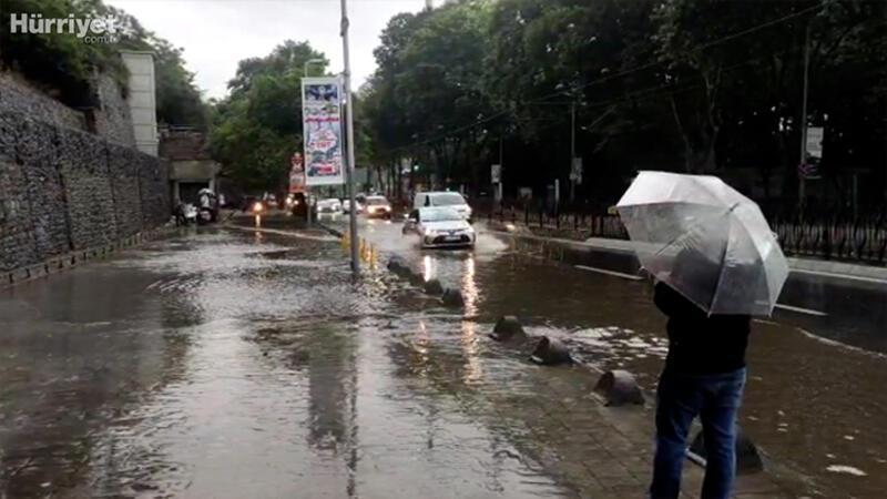 İstanbul'da yağmur bugün de etkili oldu