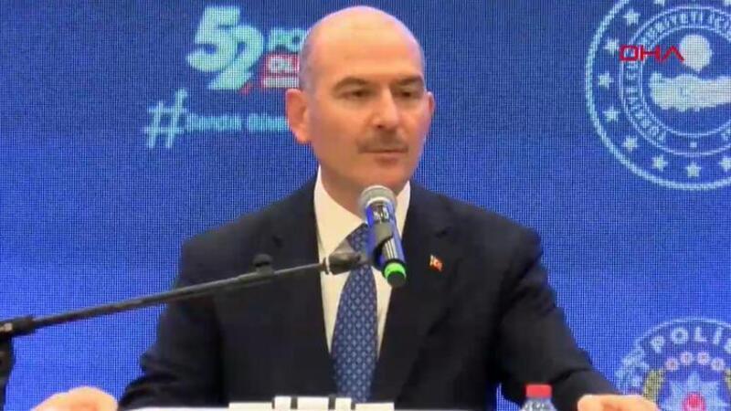 Bakan Soylu, POLSAN Olağan Genel Kurulu'nda konuştu