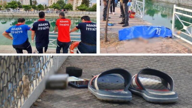 Adana'da sulama kanalına atlayan genç boğuldu