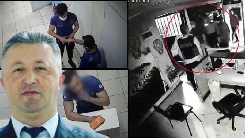 Esenyurt'ta polis merkezinde ölüm! Kamera görüntüleri ortaya çıktı: 'Bırak beni, saygısızlık yapma'
