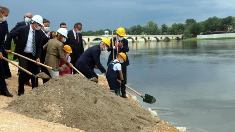 Edirne'de '3 Nehir 1 Şehir Projesi'nin temeli atıldı
