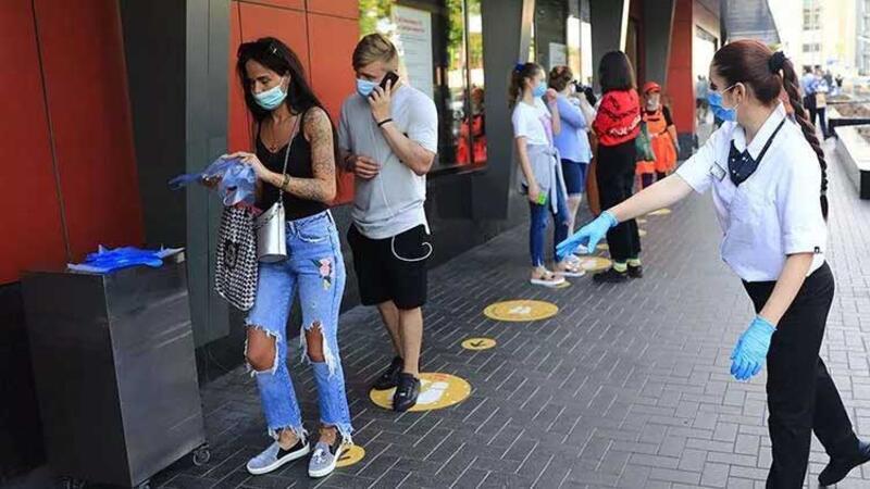 Rusya'da koronavirüs vaka sayısında artış sürüyor