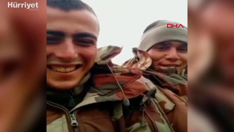 Kuzey Irak şehidinin son görüntüleri, yürekleri dağladı