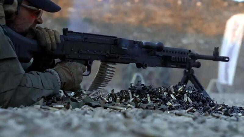 Yerli ve milli makineli tüfek PMT 7.62'nin ilk teslimatı jandarmaya